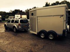 Ifor Williams Horse Trailer In Silver