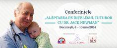 """Conferintele """"Alăptarea pe întelesul tuturor"""" cu Dr. Jack NEWMAN"""
