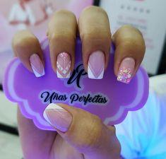 Shellac Nails, Acrylic Nails, Precious Nails, French Nails, Love Nails, Manicure And Pedicure, Nail Designs, Make Up, Nail Art