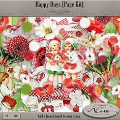 Daily Deals :: Happy Days [Page Kit] Daily Deal