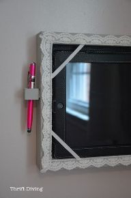 how to make a diy tablet holder for your wall, how to