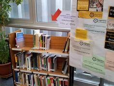 Libros de Ingeniería Sin Fronteras Aragón (ISFA) en la Biblioteca Hypatia de Alejandría.
