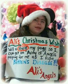 I will always repost battens disease. Me and my friends raised £507 for this disease with a bake sale it's not that hard to do and everyone loves cake. Please raise awareness of this disease as not many people know about it and everyone should and raise money as it is worse than many of the more well known diseases. #pray4Ali xxx