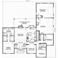 one story ranch style house plan needs about 500 sq ft more, but i