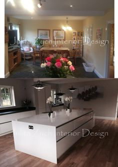 my interior project #interiordesign #kitchen #beforeandafter
