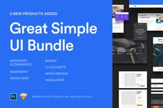 Great Simple UI Bundle on Inspirationde