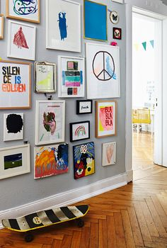 Much on the note and already more in the head, as I expected. Me in New York from . Wall Design, House Design, Inspiration Wall, Home And Deco, Home And Living, Living Room, Family Room, Kids Room, Sweet Home