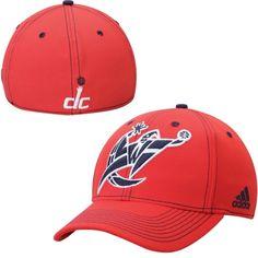 detailed look e4c7c 46e14 Washington Wizards adidas Team Nation Wordmark Structured Flex Hat – Red  Washington Capitals, Washington Nationals
