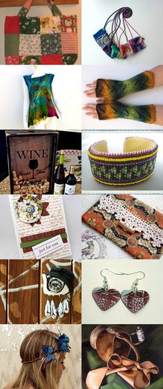Brown tones . . .  by Coyawo on Etsy--Pinned with TreasuryPin.com #Estyhandmade #giftideas #summerfinds