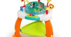 Oferta Bright Starts - Centru de activitati Bounce Bounce Baby Safari Adventure