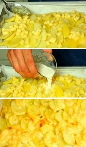 Cenas Rápidas: Patatas a la Savoiarda - Loss Tutorial and Ideas Potato Recipes, Vegetable Recipes, Vegetarian Recipes, Healthy Recipes, Kitchen Dishes, Kitchen Recipes, Cooking Recipes, Food Porn, Cooking Time