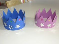 Daycare Crafts, Xmas Crafts, Diy And Crafts, Crafts For Kids, Arts And Crafts, Diy Birthday Crown, 4th Birthday, Alphabet Activities, Craft Activities