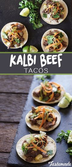 Korean tacos are all the hype. You've probably heard about them - now's your chance to make them at home!