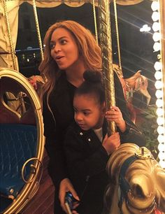 Beyonce and Blue in Florence