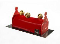 Noël 2015. Greli Grelots - Christophe Roussel : framboise de ronce et chocolat aux notes biscuitées. 4 parts : 25€ ou 6 parts : 36€