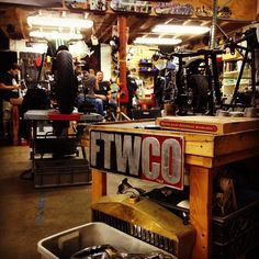 FTWCO GARAGE - Pin by Corb Motorcycles