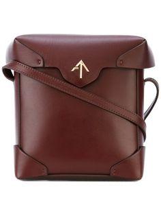 Shop Manu Atelier crossbody satchel.