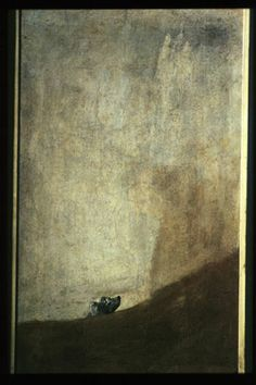 Francisco Goya Le chien 1820-23