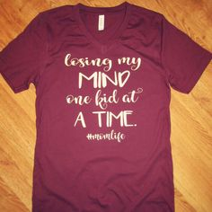 Check out our newest listings! - Funny Mom Shirts - Ideas of Funny Mom Shirts - Check out our newest listings! Vinyl Shirts, Mom Shirts, Cute Shirts, Motherhood Funny, Diy Shirt, T Shirts With Sayings, Funny Tees, Mom Humor, Shirt Designs