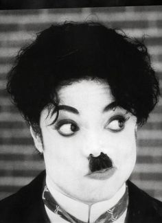 Michael Jackson as Charlie Chaplin, 1995