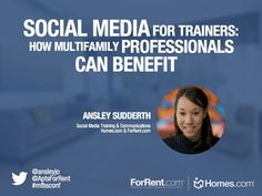Social Media for Trainers by Ansley Sudderth via slideshare
