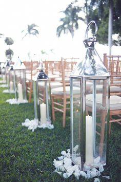 silver lanterns - photography: Paper Antler // floral design: Parrish Designs // event coordination: Table 6 Productions