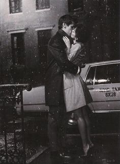 Kissing in the snow <3