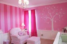 girls room paint ideas - stripes but vertical in krystal's room