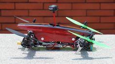 Tilt Rotor FPV Racing Quadcopter OFM Swift TR260 FPV Yandi Park
