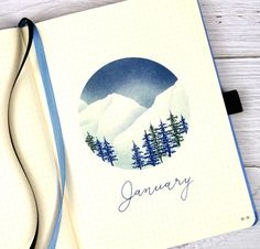 2021 BuJo – January pages