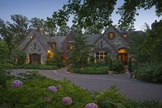 Old World style home...