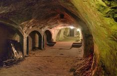 1. A Chinese underground society once existed in tunnels under Oklahoma City.