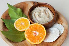 Gesichtspeeling selber machen rezept-orangen-joghurt-haferflocken