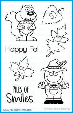 Piles of Smiles (clear set) : Your Next Stamp