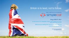 The #BREXIT referendum is coming up on 23rd June. Are you Voting?  Here in simplecall, we passionately believe in accountable governance and European governance completely lacks accountability.  We therefore promote the case for BREXIT!