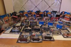 Hot Wheels Star Wars Lot of 22 Diecast Vehicles Force Awakens New in Packages #HotWheels #StarWarsAssorted