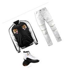 """yuhh datway💦🤘📴"" by officallychildish on Polyvore featuring men's fashion and menswear"