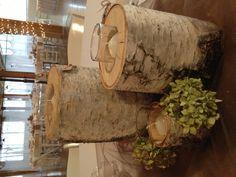 birch log votive holders Birch Logs, Birch Branches, Votive Candle Holders, Votive Candles, Winter Christmas, Christmas Crafts, Log Projects, Wood Creations, Wood Ideas