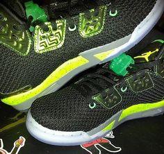 b221779b63a001 NIKE AIR JORDAN SPIKE FORTY 811121-017 BLACK-GREEN SZ 7.5Y Jordan Spike