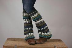 Upcycled Leg Warmer