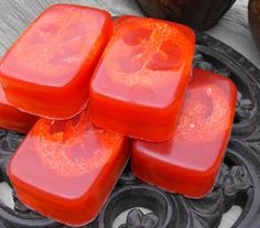 Rosemary Mint Loofa Soap in Honey Glycerin by cleanbreak on Etsy, $5.00