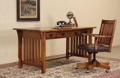 Restoration Hardware Mission Style Desk & Chair in Coushatta ...