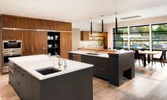 Cuisine ouverte avec îlot central: 58 sublimes modèles d'aménagement
