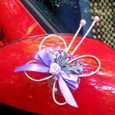 Motýlek na zrcátko auta