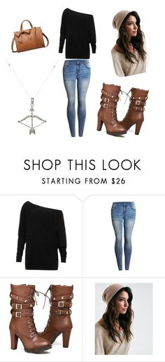 """Chic Fall Sweater"" by longmire123 ❤ liked on Polyvore featuring Feathered Soul"
