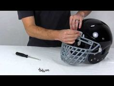 Attaching a Big Grill 2.0 Super Pro or DNA Facemask to a Schutt Vengeance Football Helmet