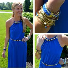 Style Seen at the Pink Palace: Lilly Pulitzer Summer '13- Inna Dress in Schooner Blue