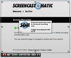 Screencast-O-Matic is a great tool for capturing actions that are happening on your screen. With Screencast-O-Matic, you may create videos that can be used to educate your students on various topics. Whether it's how to use a program, or how to operate in Word, using this program won't disappoint! www.screencast-o-matic.com is their homepage.
