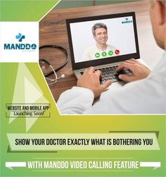 "Wondering how Manddo is different from the mainstream Healthcare Websites? Show Your Doctor Exactly What Is Bothering You || With Manddo Video Calling Feature.  When we say ""You are safe here"", we literally mean that!"