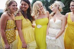 101 ideas for a yellow wedding